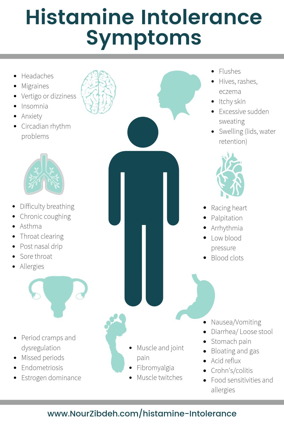 Histamine Intolerance Symptoms (2) - Nour Zibdeh